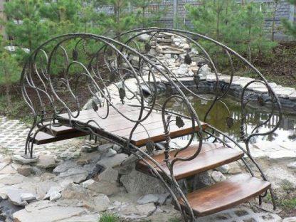 Купить кованые мостики