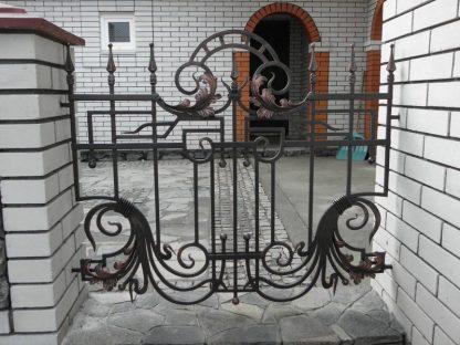 Кованый забор орнамент