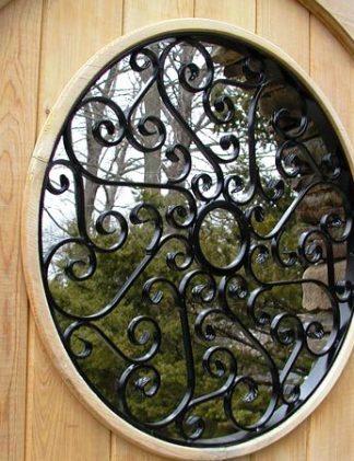 "Кованая решетка на окно ""Стоун"""