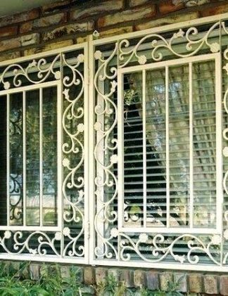 """Кованые решетки на окна """"Сари"""""""
