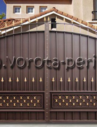 Купить кованые ворота в Москве