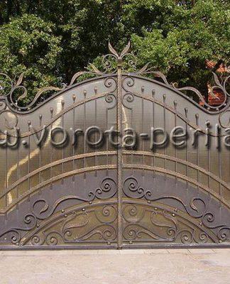 "Кованые ворота ""Модерн"""