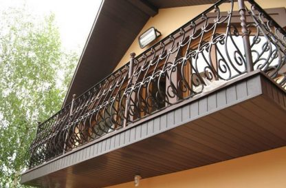 "Балкон кованый ""На мансарде"""