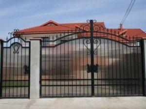 Ворота с поликарбонатом