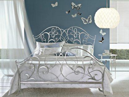 Кованая кровать Бабочка