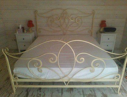 Кованая кровать Елена