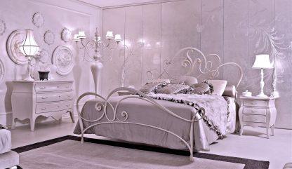 Кованая кровать Лилия