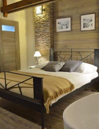 Кованая кровать Лофт