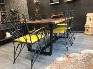 Кованая мебель для ресторана бара кафе