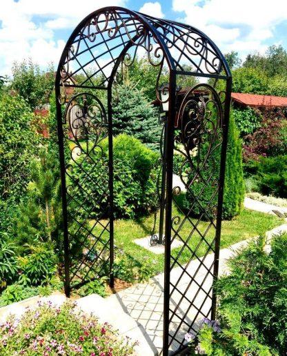 Кованая арка Берта