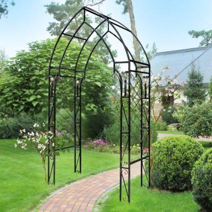 Кованая арка садовая купить