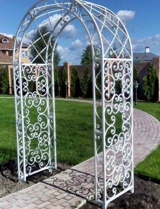 Кованая садовая арка Прованс