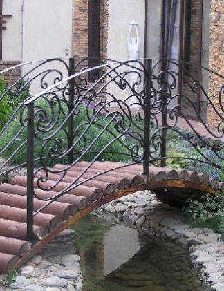 Кованые мостики фото