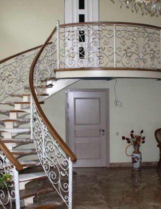 Винтовые лестницы ковка ручной работы.