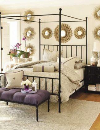 Кованая кровать Килт